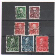 NORVEGE 1958-60 LOT