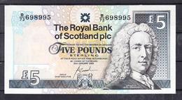 ESCOCIA 2005.LORD LAY PRIMER GOBERNADOR 5 LIBRAS    PLANCHA   NUEVO SIN CIRCULAR  . B1032 - Schotland