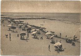 Y3319 Rosignano Solvay (Livorno) - Panorama Della Spiaggia - Beach Plage Strand Playa / Viaggiata 1954 - Autres Villes
