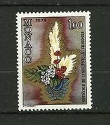 """MONACO  1977   N° 1116 Concours Int. De Bouquets ( Composition Florale ) """"    NEUF - Monaco"""