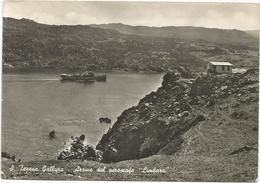 Y3320 Santa Teresa Di Gallura (Sassari) - Arrivo Del Piroscafo Limbara - Navi Ships Bateaux - Panorama / Viaggiata 1962 - Altre Città