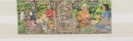 PITCAIRN ISLANDS 2003 ART OF PITCAIRN STRIP MNH