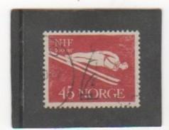 NORVEGE 1961 YT N° 411