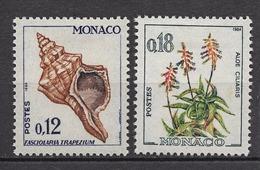 MONACO 1960 N° 539b ET 541a  NEUFS * /C2612