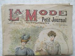 1906 -  Journal LA MODE Parisienne - Supplément Hebdomadaire Du Petit Journal Paris - - Journaux - Quotidiens