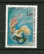 """MONACO  1980  N° 1252  """" Ikebena Bouquet Japonais """"    NEUF"""