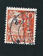 N° 218 Voile Ombrée Type II Timbre Danemark (1933) Oblitéré