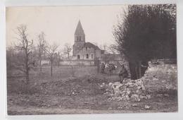 PRESLES-ET-THIERNY - Kirche - Carte-photo Allemande - Autres Communes
