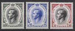 MONACO 1960 LOT N° 547A / 549A / 550A / NEUFS*  - C2614