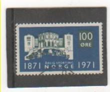 NORVEGE 1971 YT N° 578