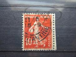 """BEAU TIMBRE DE FRANCE N° 138 , CACHET """" CONSTANTINE """" !!! - Algérie (1924-1962)"""