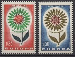 MONACO 1964 N° 652 Et 653  NEUFS  * /C2614