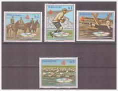 734 Paraguay Olympics Barcelona 1992 Shooting Rowing Soccer Horse MNH