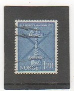 NORVEGE 1972 YT N° 601