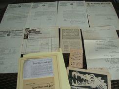 Lot Drittes Reich Dokumente Nationalsozialistischer Dt. Arbeiterpartei/ Dt. Arbeiterfront/Flugblätter Göring 11 Stück - Historische Dokumente