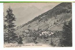 CPA-SUISSE-St-LUC-VUE GENERALE-VAL D'ANNIVIERS- - VD Waadt