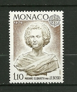 MONACO  EUROPA 1974   N° 958    (madame Elisabeth )       NEUF