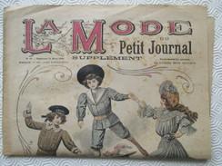 1906 -  Journal LA MODE Parisienne - Supplément Hebdomadaire Du Petit Journal De Paris - - Journaux - Quotidiens