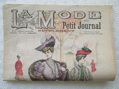 1904 -  Journal LA MODE Parisienne - Supplément Hebdomadaire Du Petit Journal De Paris - - Journaux - Quotidiens