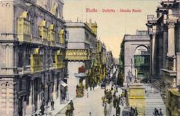 MALTA - VALETTA STRADA REALE - Malta