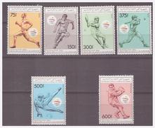 737 Comores Olympics Barcelona 1992 Athletic Tennis Soccer Tabletennis MNH - Sommer 1992: Barcelone