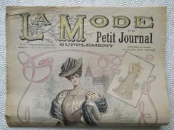 1905 -  Journal LA MODE Parisienne - Supplément Hebdomadaire Du Petit Journal De Paris - - Journaux - Quotidiens