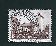 N° 989 Eglise De Gjellrup  Timbre Danemark (1990) Oblitéré