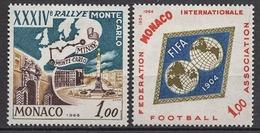 MONACO 1965 N° 662 / 663  NEUFS  * / C2618