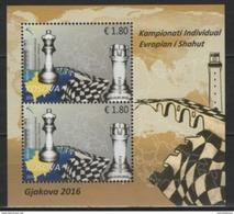 Kosovo (2016) - Block -  /  Chess - Echecs - Ajedrez - Schach