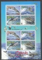 VV6 2007 Grenada WWF Marine Life Dolphins 1KB MNH