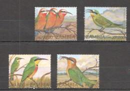 VV68  ZAMBIA FAUNA BIRDS 1SET MNH