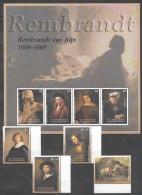 VV119 ST.VINCENT & THE GRENADINES ART REMBRANDT VAN RIJN 1KB+1SET MNH