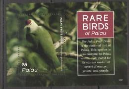 VV159 PALAU FAUNA RARE BIRDS 1BL MNH