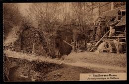 Rouillon - Sur - Meuse --- Moulin à Eau - Watermolen - Molen -  * Un Coin Pittoresque De Bableuse *