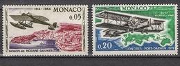 MONACO 1964 -  N° 641 ET 644 - NEUFS * /C2621