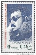TAAF 2004 Yvert 391 Neuf ** Cote (2015) 2.00 Euro Mario Marret - Terres Australes Et Antarctiques Françaises (TAAF)