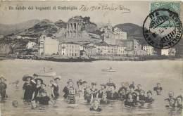 Italie -Impéria - Vintimiglia - Surréalisme - Un Saluto Dai Bagnanti Di Ventimiglia - Imperia