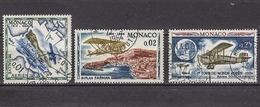 MONACO 1964 -  N° 637 / 638 / 645 - NEUFS * /C2631