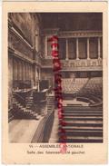 75 - PARIS 7EME- ASSEMBLEE NATIONALE - SALLE DES SEANCES  COTE GAUCHE - CACHET SEANCE DU 13 MAI 1931 - Arrondissement: 07