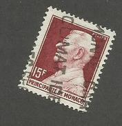 MONACO - N°YT 305B OBLITERE - COTE YT : 4€ - 1948/49