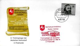 ALLEMAGNE  BERLIN  FDC   1974  Physique Gustav Robert Kirchhoff Sport Etude Kaiserau