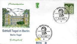 ALLEMAGNE  FDC    1969 Chateaux De Tegel A Berlin