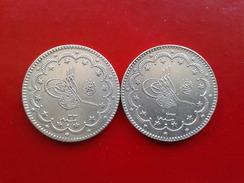 Two Identical Coins - 10 Kurush - Türkei