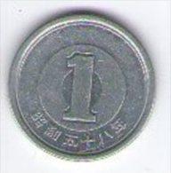 Giappone Nippon 1 Yen - Giappone