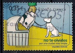 Spain 2011 - Civic Values - Self Adhesive Stamps - 1931-Today: 2nd Rep - ... Juan Carlos I