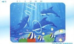 Télécarte Japon * DAUPHIN * DOLPHIN (866) Japan () Phonecard * DELPHIN * GOLFINO * DOLFIJN * - Dolphins