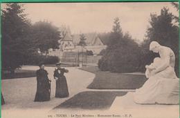 37 - Tours - Le Parc Mirabeau - Monument Racan - Editeur: N.P N°123