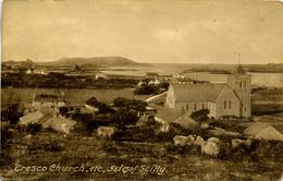 SCILLY ISLES - TRESCO - CHURCH ETC  Sc28 - Scilly Isles