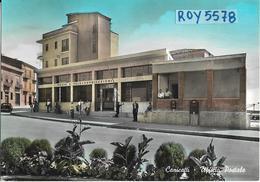 Sicilia-agrigento-canicatti Ufficio Postale Veduta Edificio Animatissima Anni 50/60 - Italia
