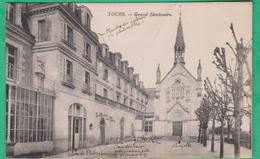 37 - Tours - Grand Séminaire - Editeur: Lefèvre (dessin Au Dos)